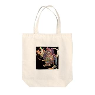 蟷螂の斧 オオカツ Tote bags