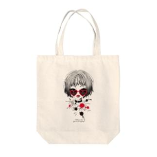 Yoocoのlovepower Tote bags