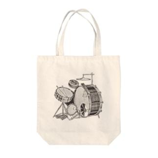 ドラムのトート Tote bags