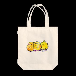 きゃべつのひよことりお Tote bags