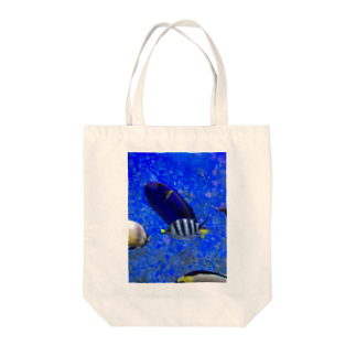 モノトーンなお魚 トートバッグ