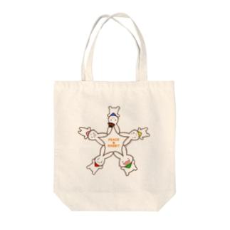PEACE★RABBIT Tote bags