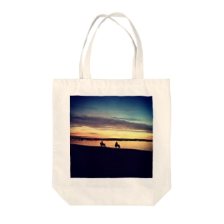 RCMP@beach Tote bags