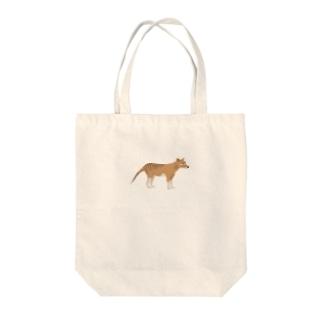 フクロオオカミ(小) Tote bags