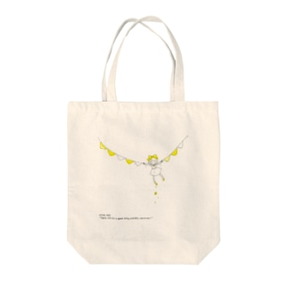 Chico*-yellow- Tote bags