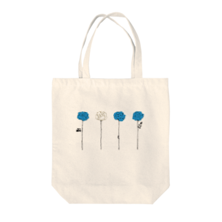 そらの青いバラ Tote bags