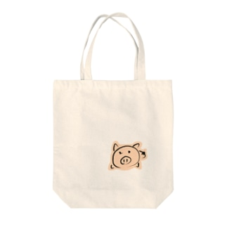 ダルダル㌧㌧君 Tote bags