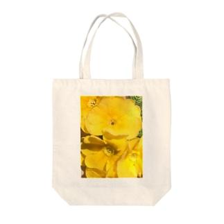 眩しいくらいの黄色 トートバッグ