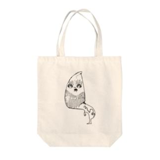 カブリモン Tote bags