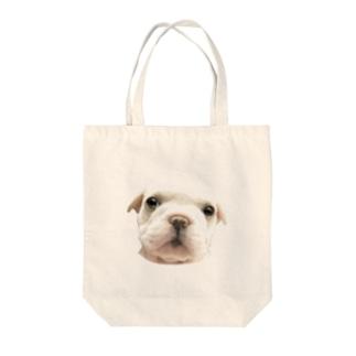 フレンチブルドッグA 子犬 Tote bags