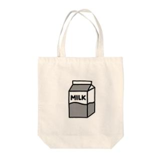 牛乳 トートバッグ