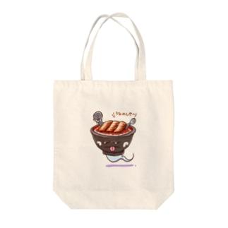 うな丼のゆうれい Tote bags