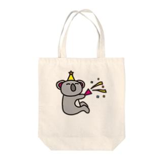 PARTY-koaland-コアランド- Tote bags