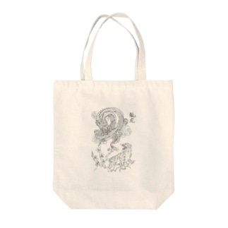 龍虎 Tote bags