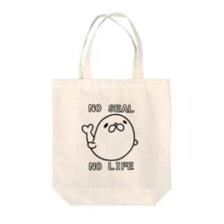 のーあざらし のーらいふ Tote bags