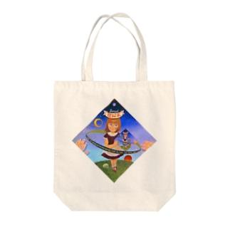 ファムファタル Tote bags