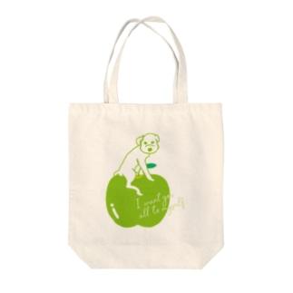 Green Apple トートバッグ