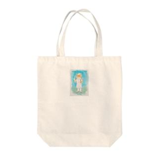 NIKO Wool Shop Street Tote Bag