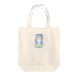 MEIKKO Wool Shop Street Tote Bag