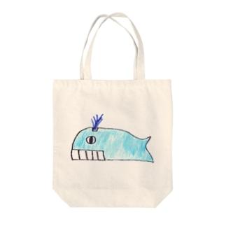 シロナガスクジラ トートバッグ