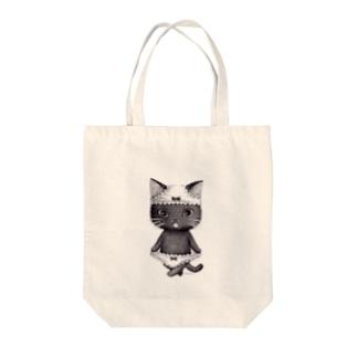 ダブルぱんつ黒2017 Tote bags