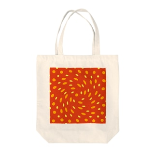 Turning dots Tote bags
