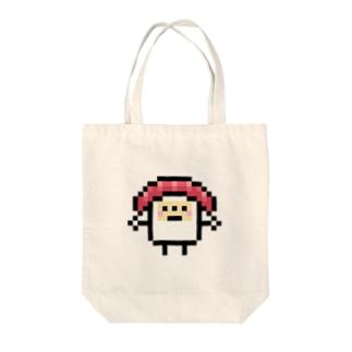 PixelArt スシスッキー チュウトロ Tote bags