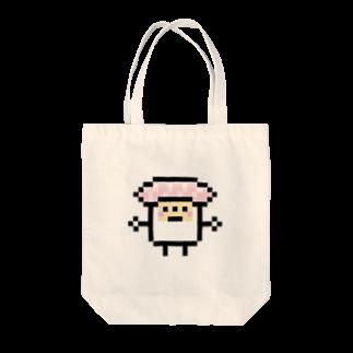 GRADUCAのPixelArt スシスッキー ビントロ Tote bags