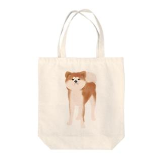 秋田犬【赤毛】 トートバッグ