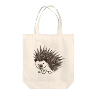 ドリルネズミ1 Tote bags