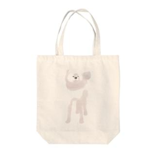 秋田犬【白毛】 トートバッグ