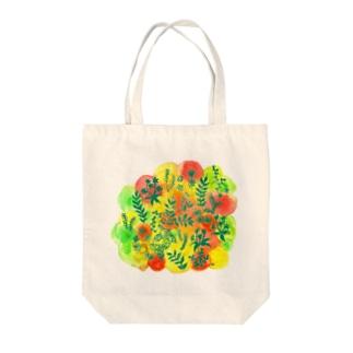 色彩草木花 Tote Bag