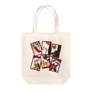 沖縄花札6枚 Tote Bag