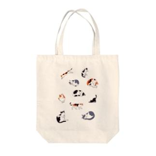 10匹ねこ Tote bags