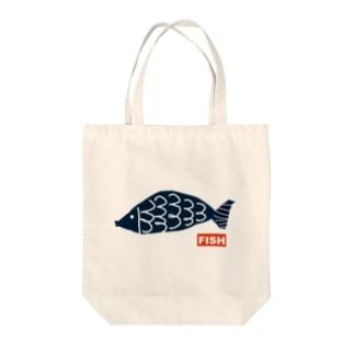 FISH トートバッグ