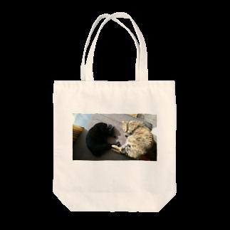 福丸屋のひるねこ Tote bags