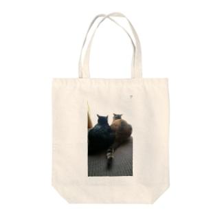 後ろ姿(ねこ) Tote bags