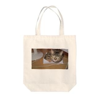 しあわせ(ねこ) Tote bags