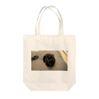 おすまし(ねこ) Tote bags