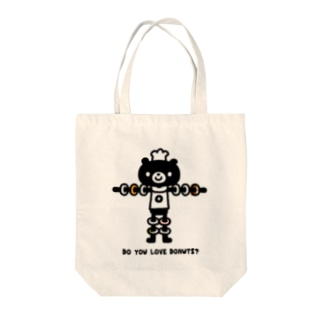 LOVE DONUTS Tote bags