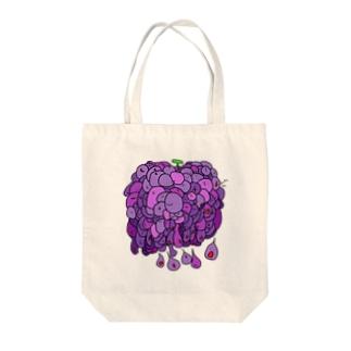流れる葡萄 Tote bags