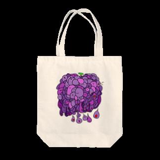 e_buttonの流れる葡萄 Tote bags