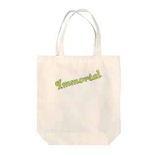 Immortal Tote bags