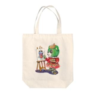 大崎の芸術家 Tote bags
