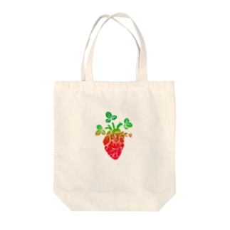 Strawberry Moonな心臓 Tote bags