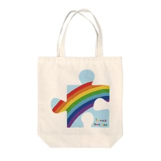 にじパズル Tote Bag