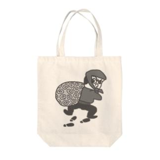 大泥棒 怪盗るぽん Tote bags