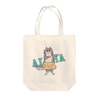 aloha cat トートバッグ