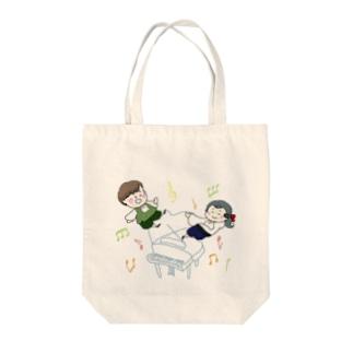 作曲家 Tote bags