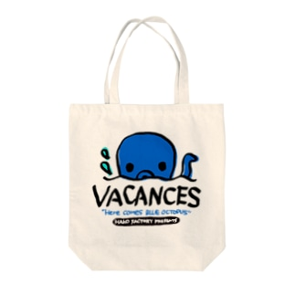 BLUE OCTOPUS Tote bags